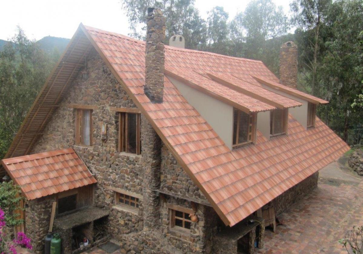 Roofing tile ONDUVILLA Fiorentino, restaurant in Colombia