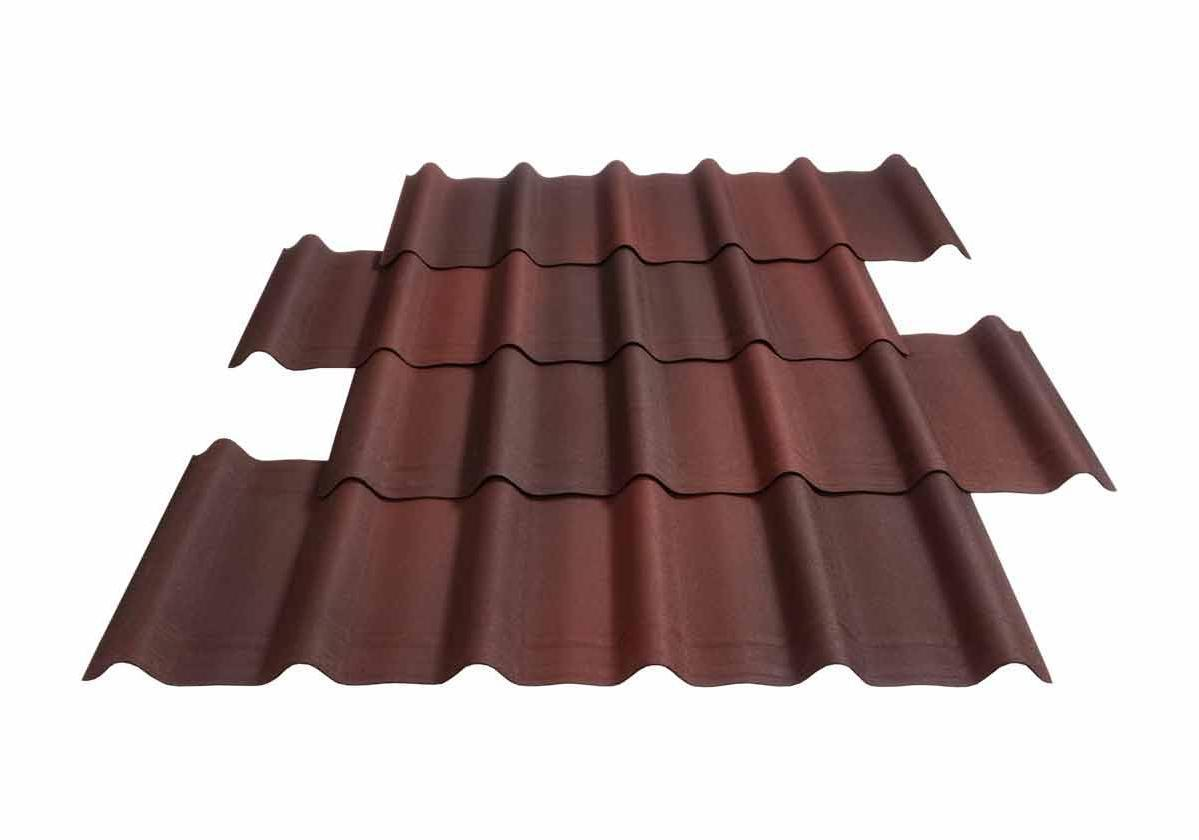 Roofing tile Onduvilla Shaded Red