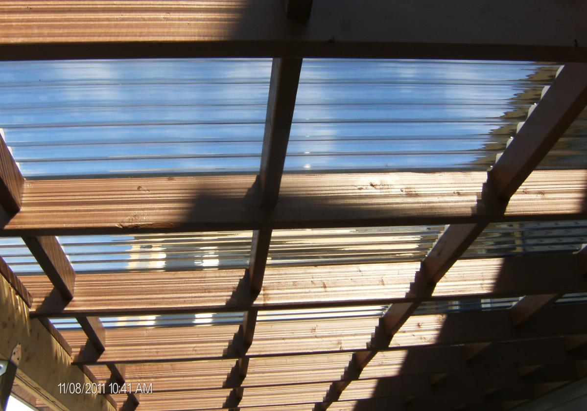 Plastic roofing and over-roofing